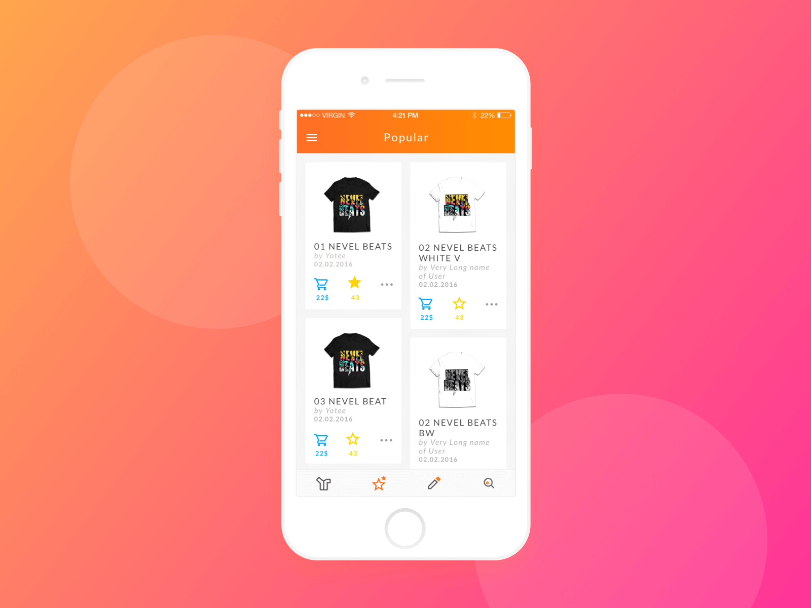 App redesign 1