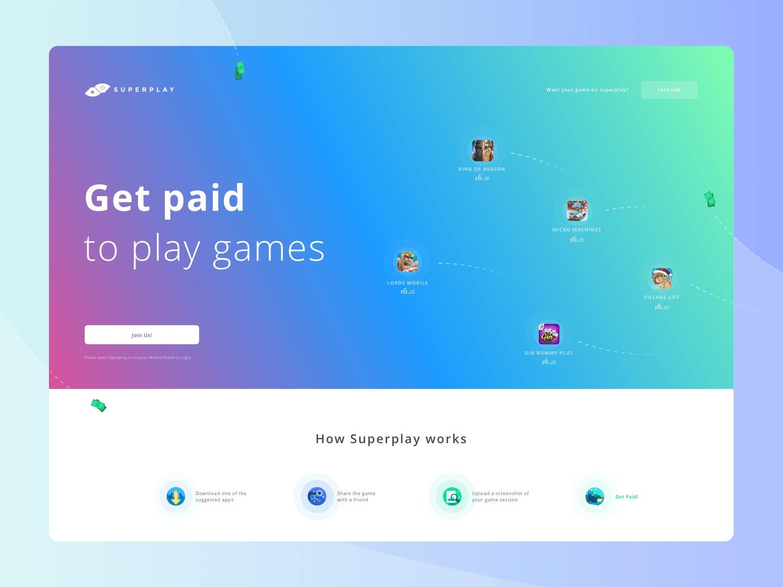 Superplay desktop